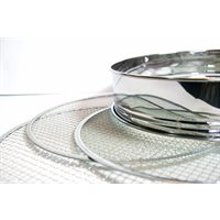 Stainless sieves