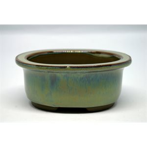Oval 13 x 11 x 6 cm
