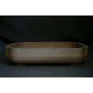 Rectangle brun 32 x 26 x 7 cm