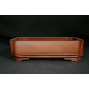 Rectangle brown TC 24.3 x 18.5 x 6.2 cm