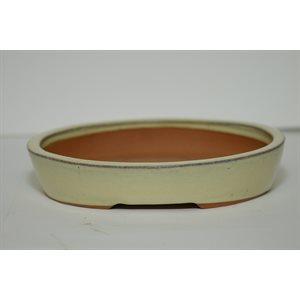 Oval Beige 29 x 23 x 6 cm