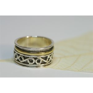 Spinner meditation ring - A109