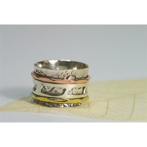 Spinner meditation ring - A167