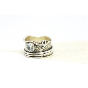 Spinner meditation ring - Aditi
