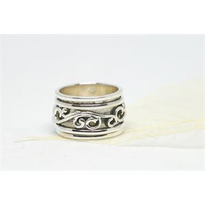 Spinner meditation ring - Wind of happiness
