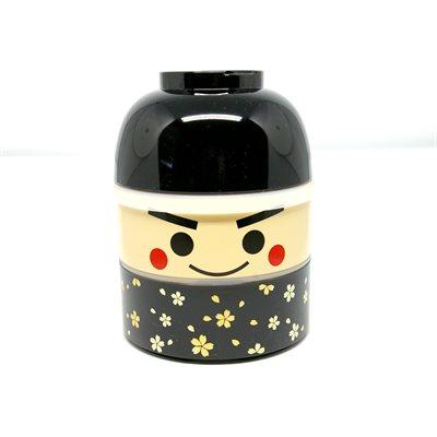 Bento - Kokeshi noir Low 850 ml