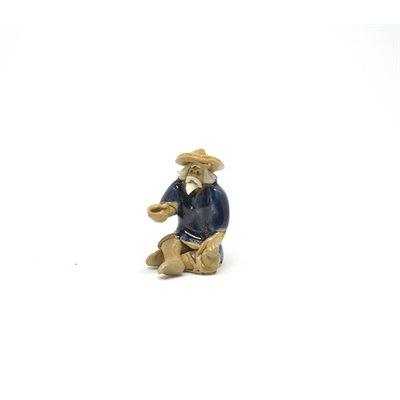 """Pêcheur bleu 1""""H"""