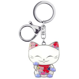 Mani The Lucky Cat - Porte-clés Charms - MGK012