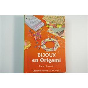 Bijoux en origami Livre-Tiroir - Didier Boursin