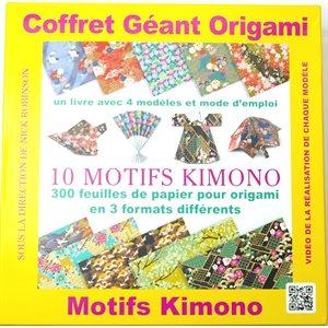 Origami Coffret - 10 motifs kimono