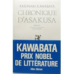 Chronique D'Asakusa - Yasunari Kawabata