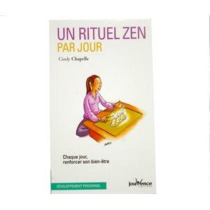 Un rituel zen par jour - Cindy Chapelle