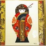 Carte - Geisha jeune
