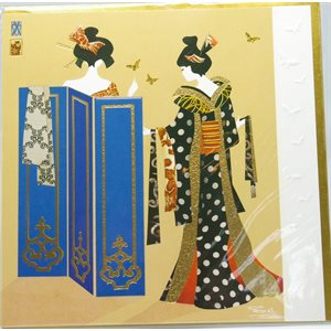 Carte - Geisha paravant