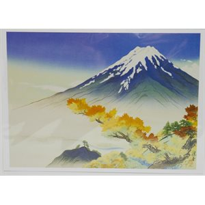 "Card - Gihei ""Autumn Fuji"""