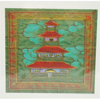 "Card - Brigett Hill ""Chinese Pagoda"""