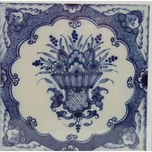 Card - Tile Flowers