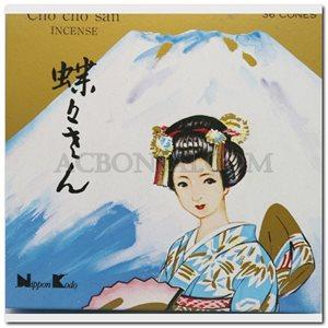 Cho-Cho-San 36 cones incense