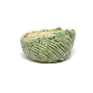 Artisan PL -  Oval Vert Jade - 14 x 11 x 8 cm