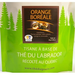 Thé du Labrador - Orange boréale - 30gr